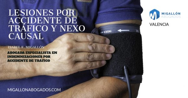 nexo causal en accidentes de tráfico