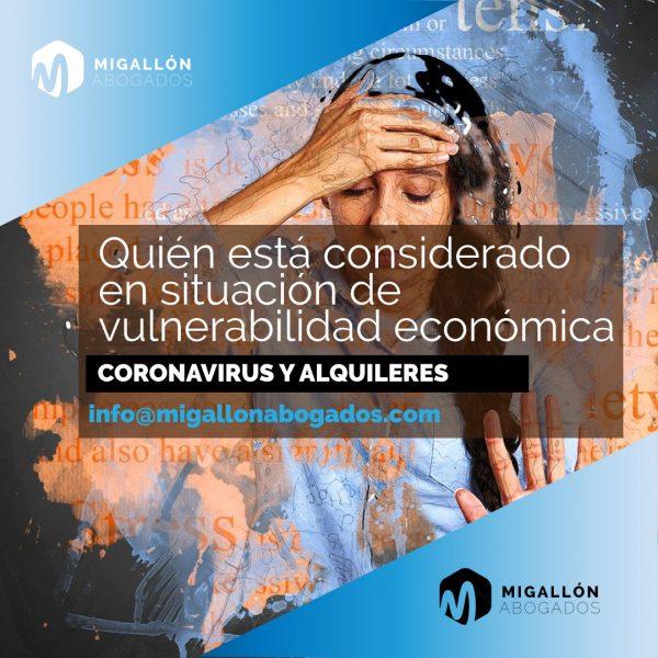 situación de vulnerabilidad económica