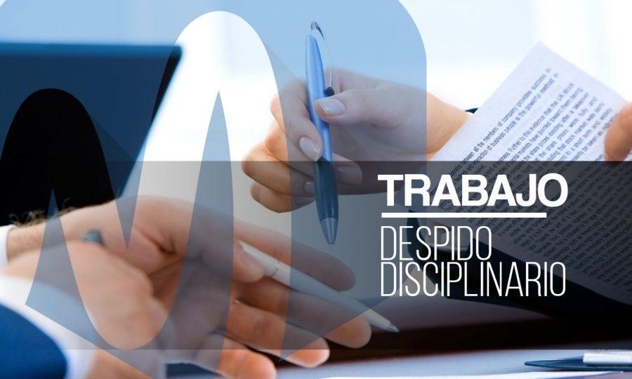 despido disciplinario
